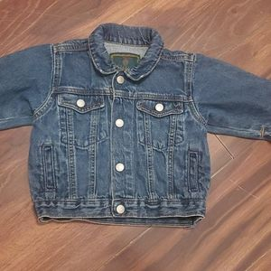 Baby Gap Jean Jacket Size 12-18 Mths